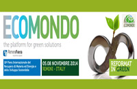 Torna dal 5 all´8 novembre Ecomondo