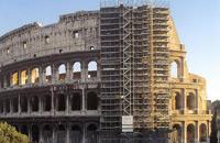 Colosseo, svelate le prime arcate dopo la pulizia