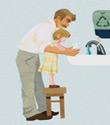 L'importanza dell'igiene delle mani espressa in immagini