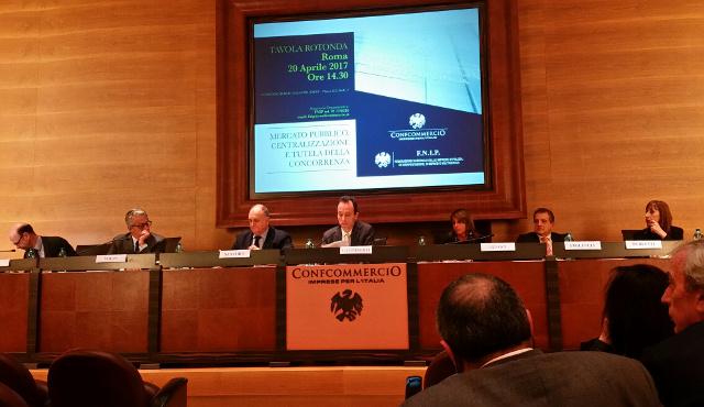 Fnip/ Confcommercio, grande successo per il convegno sulla Centralizzazione degli acquisti pubblici