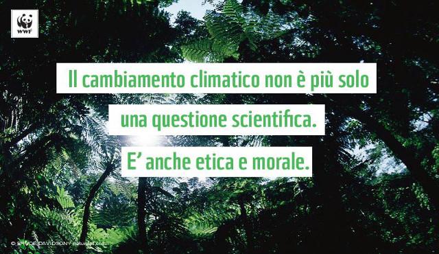 Il Papa si unisce alla schiera degli ecologisti