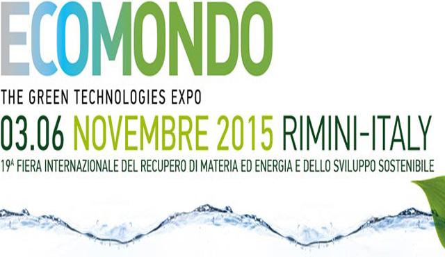 Torna Ecomondo dal 3 al 6 novembre a Rimini Fiera