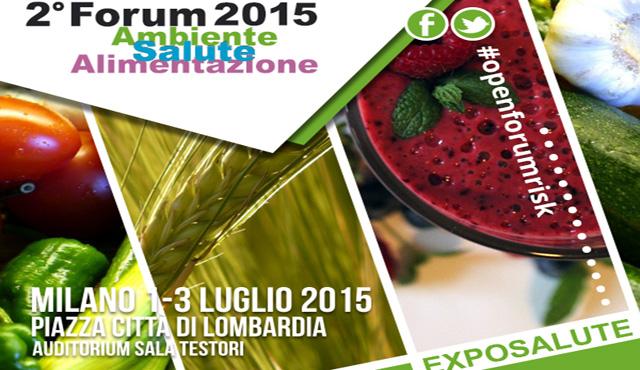 In luglio a Milano il 2° Forum Ambiente, Salute, Alimentazione