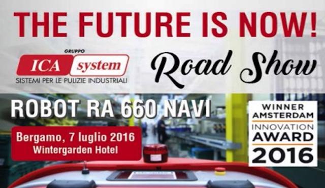 Road show Ica System: il futuro è già adesso!
