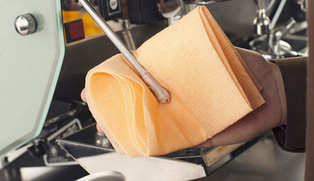 La pulizia è fondamentale per ottenere il caffè perfetto
