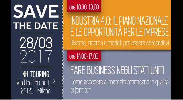 """Convegno """"Industria 4.0, il Piano Nazionale e le opportunità per le imprese"""""""