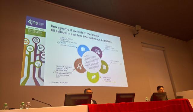CNS  ha presentato il Bilancio di sostenibilità 2016: l'incontro con cooperative e stakeholder