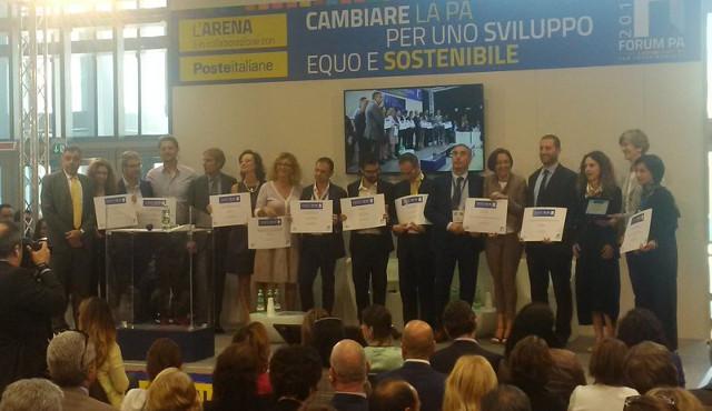 I vincitori del premio Forum PA 2017