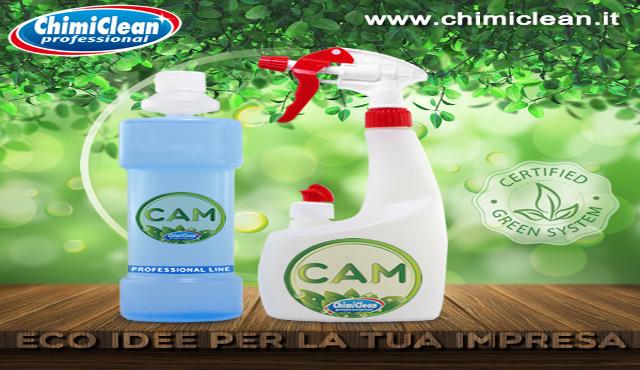 Chimiclean presenta i nuovi detergenti CAM in flacone antibatterico