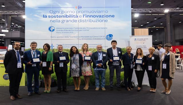 Carrefour premia i 5 migliori progetti dei propri fornitori  contro lo spreco alimentare