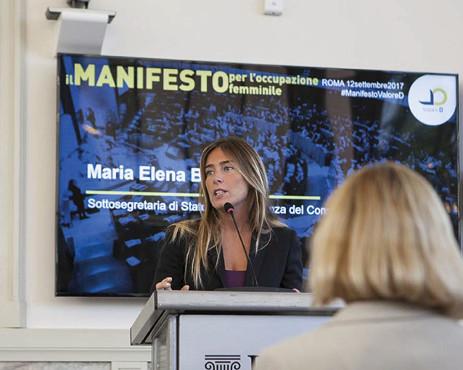 Coopservice aderisce al Manifesto per l'occupazione femminile