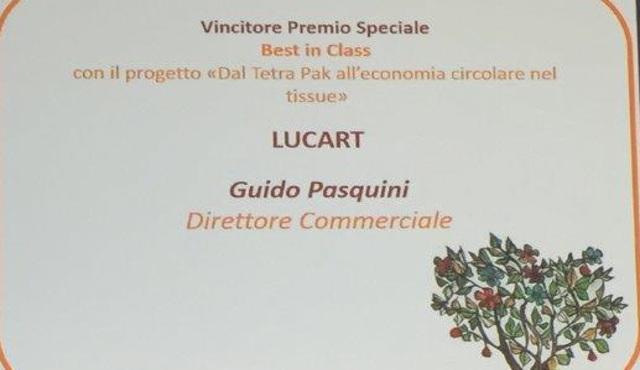 Lucart vince il Sodalitas Social Award
