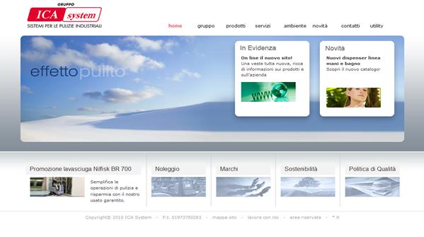 On line il nuovo sito del gruppo IcaSystem