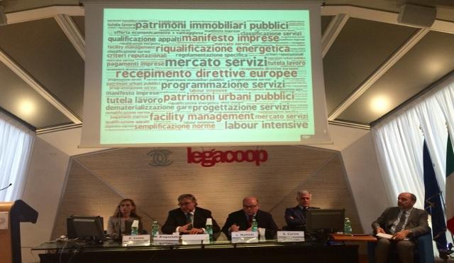 """Assemblea Legacoop Servizi: al centro """"tassa sul licenziamento"""" e nuova normativa appalti"""