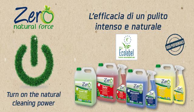 LINEA ZERO, la linea di prodotti naturale ora certificata Ecolabel