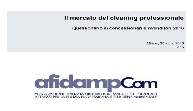Indagine AfidampCOM sul mercato della distribuzione nel professional cleaning