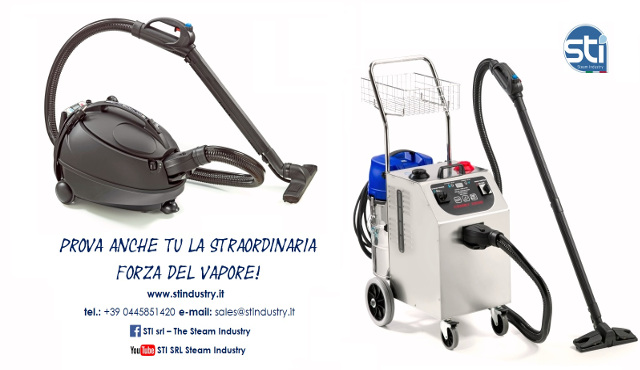 STI: macchine per la pulizia a vapore
