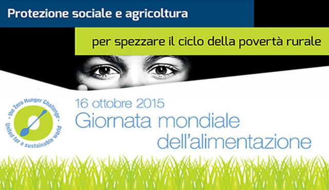 La Giornata mondiale dell'alimentazione si celebra a Expo il 16 ottobre