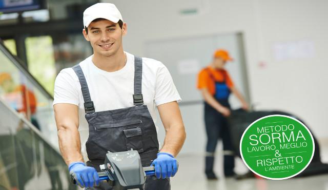 Sorma: un vero cleaning provider per il mondo dell'impresa