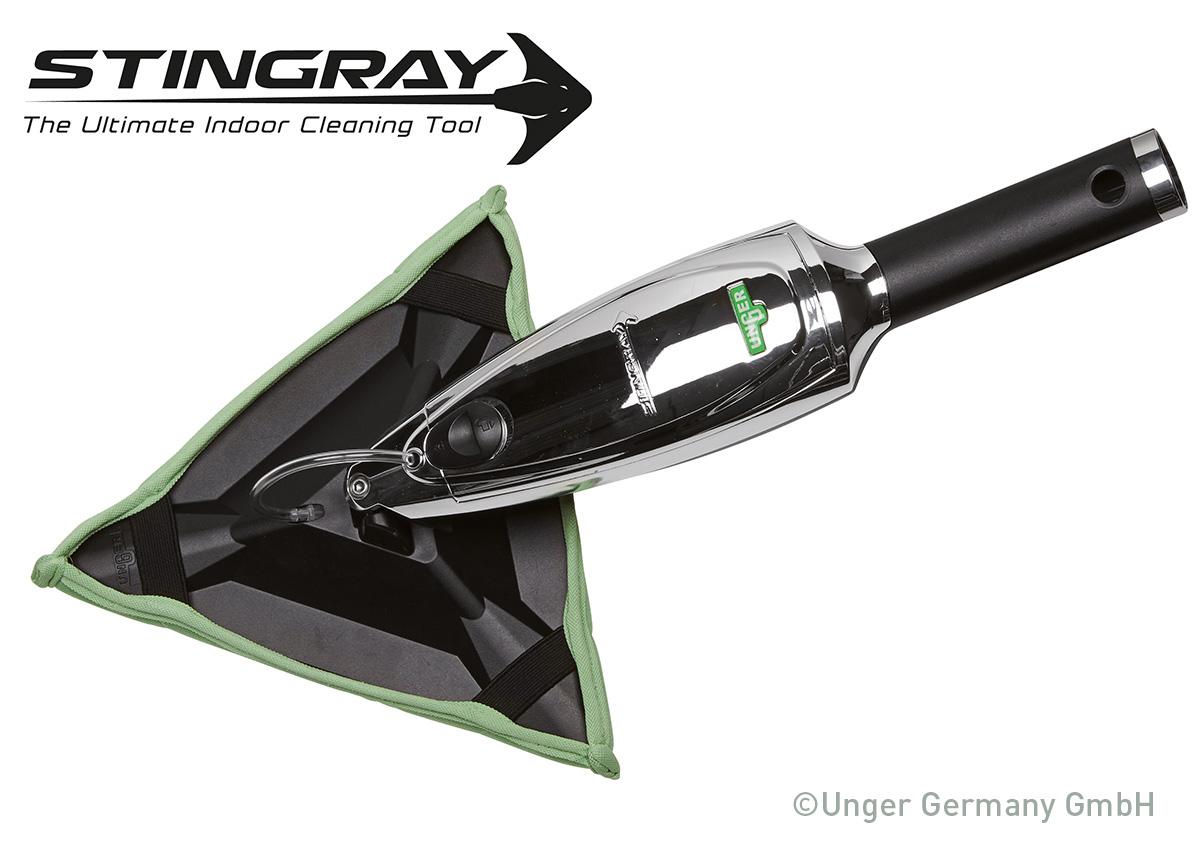 Unger presenta la novità mondiale per la pulizia dei vetri interni