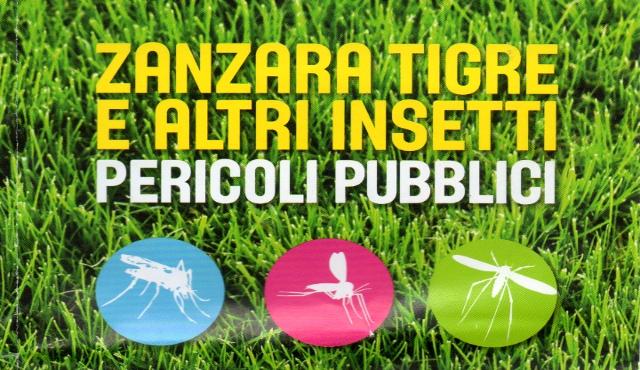 """""""Zanzara tigre e altri insetti: pericoli pubblici"""""""