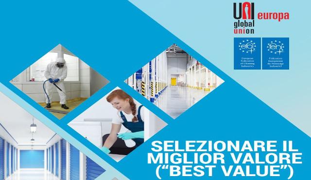 """""""Selezionare il miglior valore"""" nei servizi di pulizia: una guida dall'Europa"""