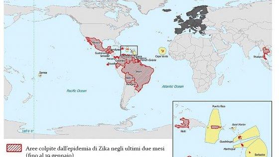 Virus Zika, confermati casi anche in Italia