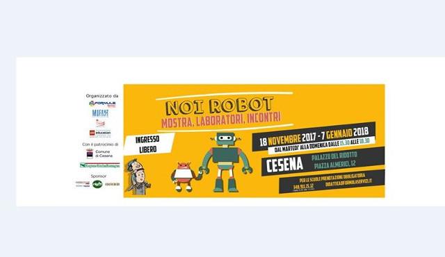 """Torna """"Noi robot"""": Formula Servizi porta la fantascienza nel cuore di Cesena"""