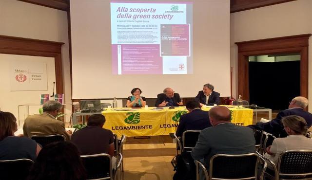 Legambiente presenta il primo Rapporto nazionale sulla green society