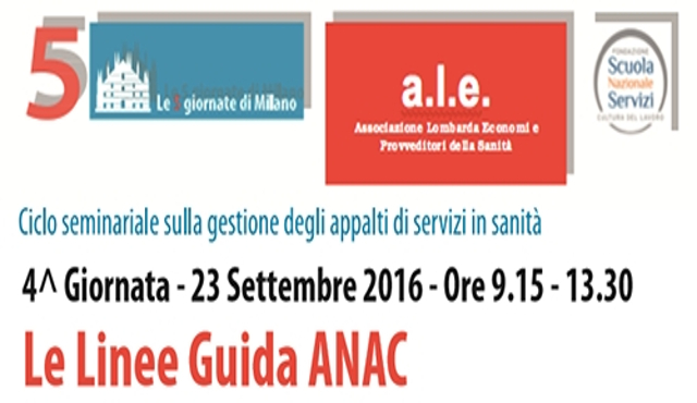 Le linee Guida Anac