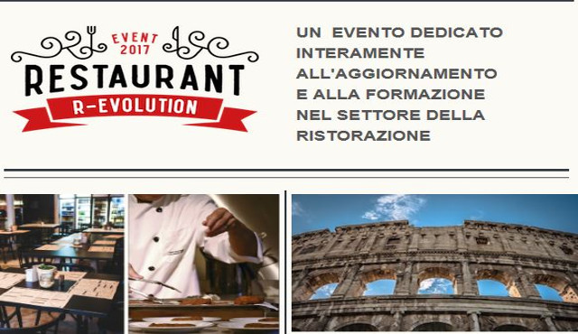 Restaurant R-Evolution fa tappa a Roma