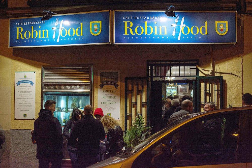 Robin Hood, il ristorante solidale