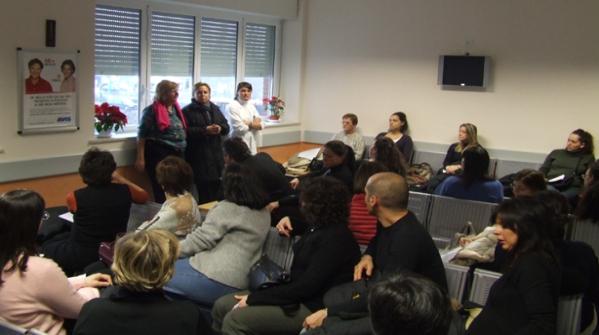 Aree d'attesa in ambito sanitario: il progetto dalla parte degli utenti
