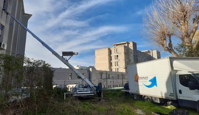 L'impegno di Coopservice per l'ospedale Covid di Napoli