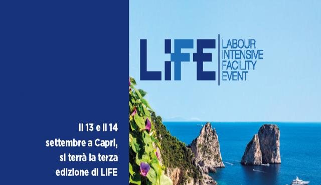 La terza edizione di LiFE in settembre a Capri