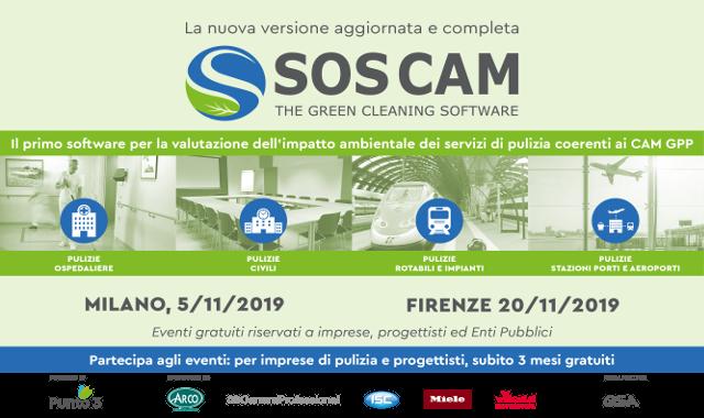 SOS CAM 2.0: i programmi degli eventi di lancio