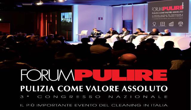 Forum Pulire il 14 e 15 settembre 2016 a Milano