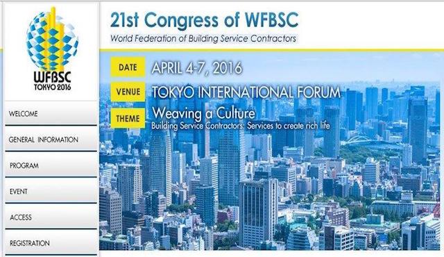 A Tokio il congresso WFBSC