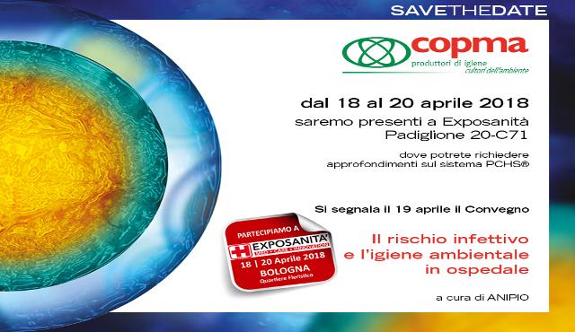 Copma ad Exposanità' Bologna