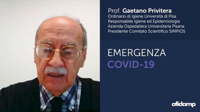 Coronavirus, il Prof. Gaetano Privitera fornisce indicazioni alle imprese di servizi