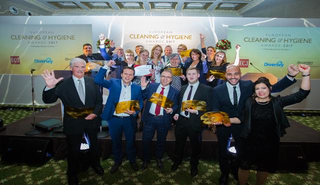 European Cleaning & Hygiene Awards 2018 annunciano gli sponsor