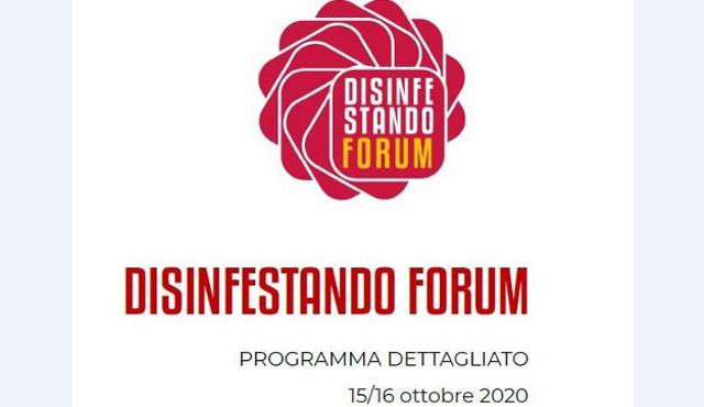 Forum  Disinfestando 2020 all'insegna dell'innovazione
