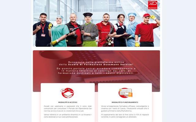 Apre la scuola online di Formazione Dussmann Service