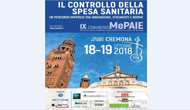 Cremona, spesa sanitaria e politiche del farmaco al IX MePaie
