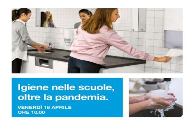 """""""L'igiene nelle scuole, oltre la pandemia"""": webinar di Tork"""