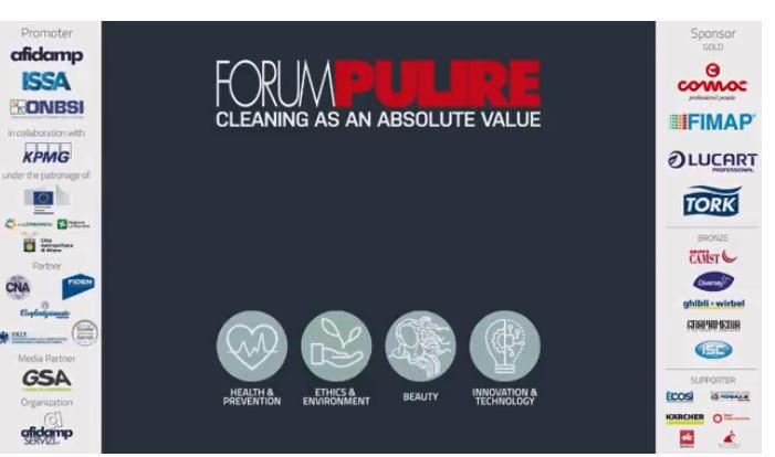 Forum Pulire, il pulito e la bellezza