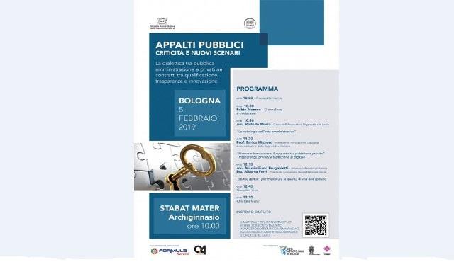 Seminario Appalti Pubblici: criticità e nuovi scenari