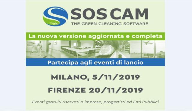 SOS CAM 2.0: gli eventi di lancio