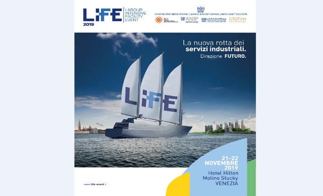 """LiFE 2019: """"La nuova rotta dei Servizi"""" a Venezia il 21 e 22 novembre prossimi"""