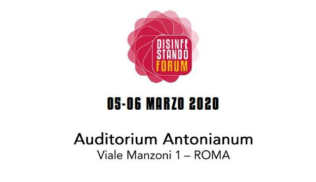 """""""Forum Disinfestando 2020"""" il 5 e 6 marzo a Roma"""